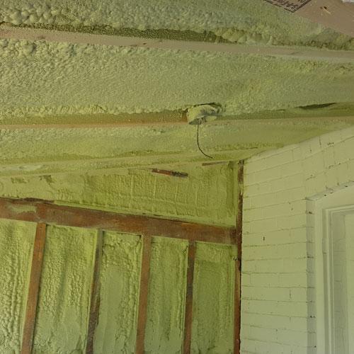 Spray Foam Basement Insulation