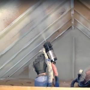 Specialist Spray foam in the Attic