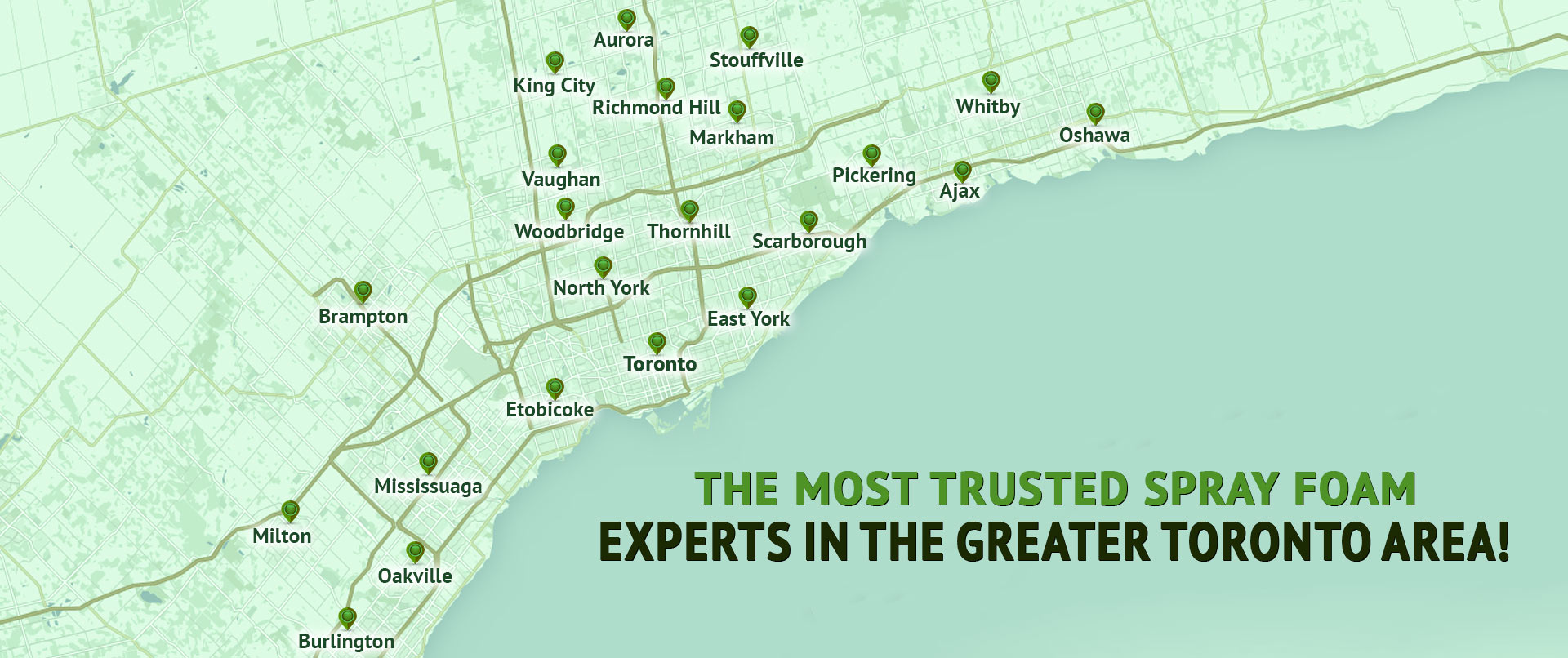 The Most Trusted Spray Foam Experts In The Greater Toronto Area Experts In The Greater Toronto Area!