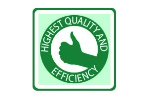 highest quality and efficiency