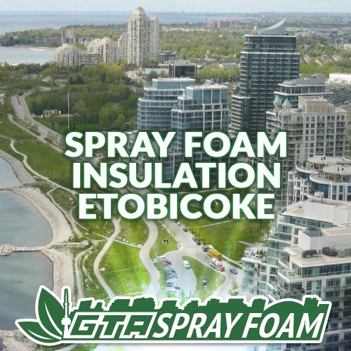 Spray Foam Insulation Etobicoke
