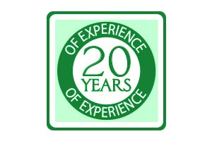 20+ Years of Experience