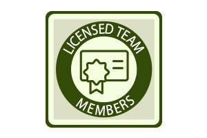 Licensed Team Members