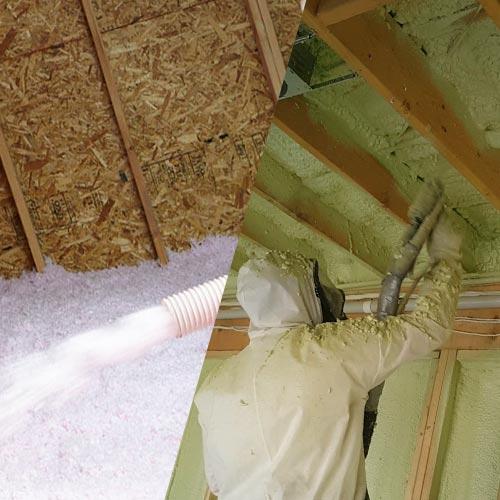 Loose Fill Insulation Spray Foam Gta