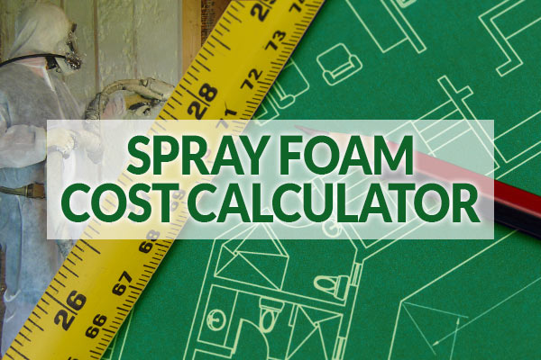 Spray Foam cost calculator