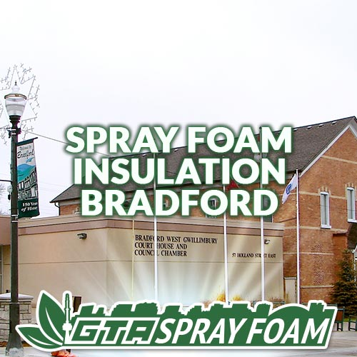 Spray Foam Insulation Bradford